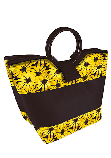 Fit & Fresh Napa Daisies Lunch Bag with Lunch on the Go Kit