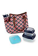 Fit & Fresh Westerly Insulated Lunch Bag Kit with