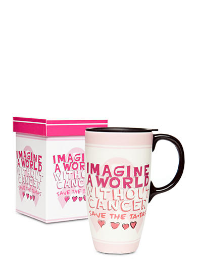 Cooks Tools™ Save the Tatas Boxed Travel Mug