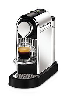 Nespresso Citiz Chrome Espresso Machine Bundle AC111USCHNE1