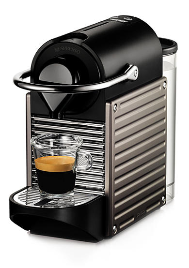 Nespresso® Pixie Espresso Machine - Electric Titanium C60USTINE