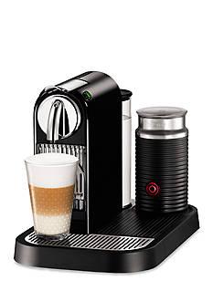 Nespresso CitiZ Espresso Machine and Aeroccino 3 Milk Frother Bundle - Limousine Black D121USBKNE1