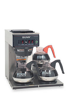 Bunn Automatic Commercial Coffee Brewer with 3 Lower Warmers CWT-3 - Online Only
