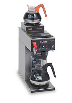 Bunn BUNN CWTF-2 Automatic Commercial Coffee Brewer with 2 Warmers