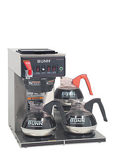 Bunn Automatic Commercial Coffee Brewer with 3 Lower Warmers CWTF353 - Online Only
