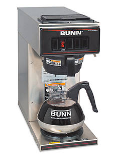 Bunn Low Profile Commercial Pourover Coffee Brewer with 1 Warmer  VP17-1- Online Only