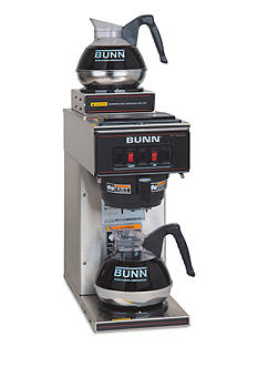 Bunn Pourover Commercial Coffee Brewer with Two Warmers VP17-2 SS - Online Only
