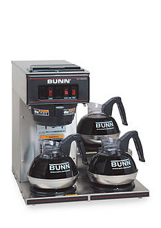 Bunn Commercial Coffee Brewer with Three Lower Warmers VP17-3SS - Online Only