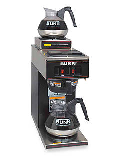 Bunn Pourover Commercial Coffee Brewer with Two Warmers VP17-2 - Online Only