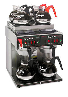 Bunn 4/2 Twin 12-Cup Automatic Commercial Coffee Brewer CWTF - Online Only