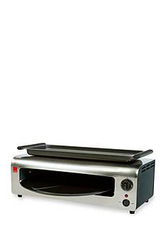 Ronco™ Pizza & More - Black/Stainless - PO1001BLGEN