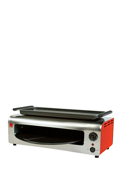 Ronco™ Pizza & More, Red/Stainless - PO1001RDGEN