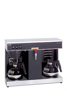 Bunn 12-Cup Automatic Commercial Coffee Brewer with 2 Warmers VLPF - Online Only