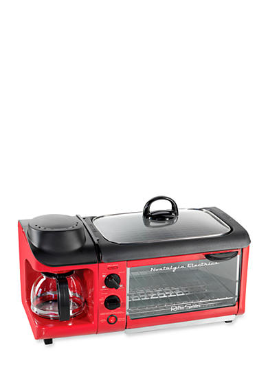 Nostalgia Electrics Retro Series 3-in-1 Breakfast Station - Online Only