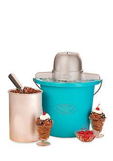 Nostalgia Electrics 4-qt.Blue Bucket Electric Ice Cream Maker ICMP400BLUE