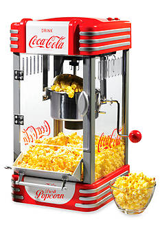 Nostalgia Electrics Coca-Cola Series Kettle Popcorn Maker RKP630COKE