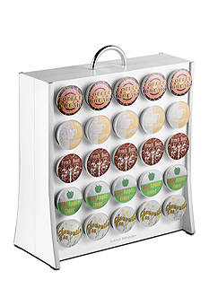 MindReader K-Cup The Wall 50 Capacity - White