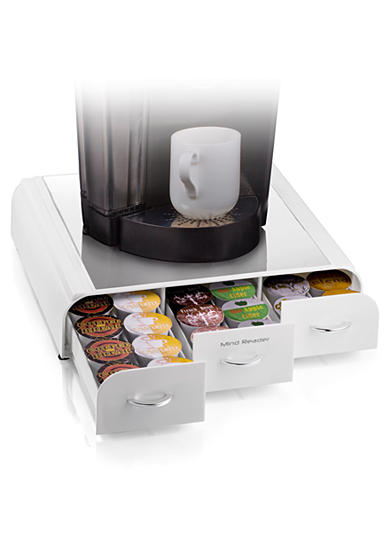 MindReader K-Cup Anchor 36 Capacity Drawer - White