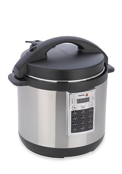 Fagor® Premium 6-qt. Pressure Cooker and Rice Cooker