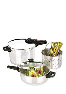 Fagor Splendid 5-Piece Pressure Cooker Set - Online Only