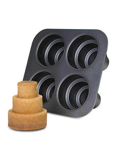 Chicago Metallic® Mini Tiered Cake Pan - Online Only