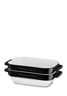 KitchenAid® 2-Piece Stacking Ceramic Mini Baker Set KBLR02MB