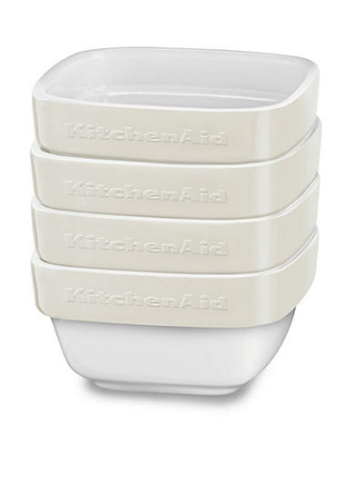 KitchenAid® 4-Piece Stacking Ceramic Ramekin Set KBLR04RM