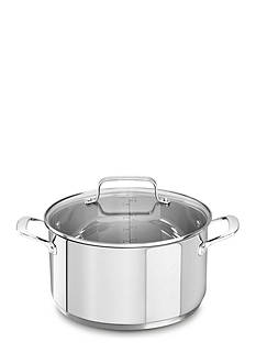 KitchenAid Stainless Steel 6-qt. Low Casserole with Lid KC2S60LCLS