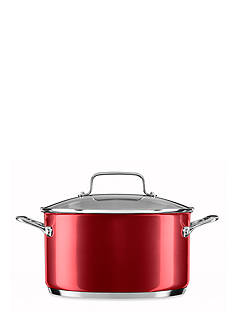 KitchenAid 6-qt. Stainless Steel Low Casserole with Lid KC2S60LCPC