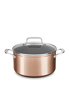KitchenAid® Hard Anodized Nonstick 6-qt. Low Casserole with Lid KC3H160LCTZ