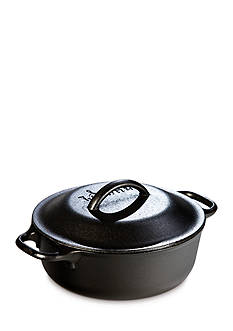 Lodge 2-qt. Cast Iron Serving Pot