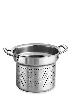 Tramontina Gourmet Prima Stainless Steel Tri-Ply Pasta Insert for 8-qt. Stockpot - Online Only