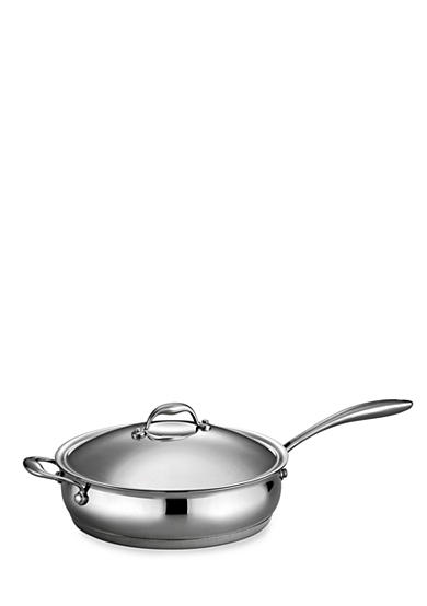 Tramontina Gourmet Domus 5-qt. Tri-Ply Base Covered Saute Pan - Online Only
