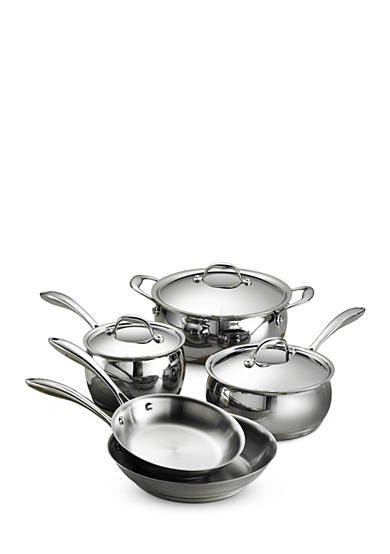 Tramontina 9-Piece Gourmet Domus 18/10 Stainless Steel Cookware Set