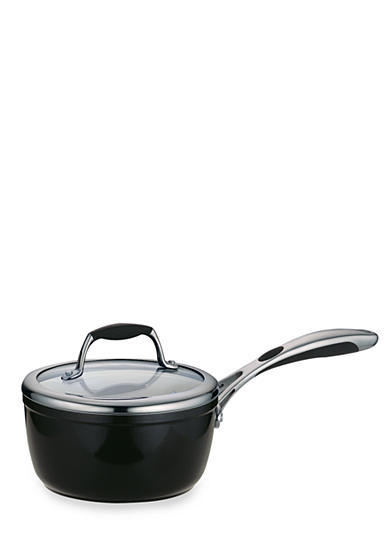 Tramontina Gourmet 1.5-qt. Metallic Black Ceramica 01 Deluxe Covered Saucepan
