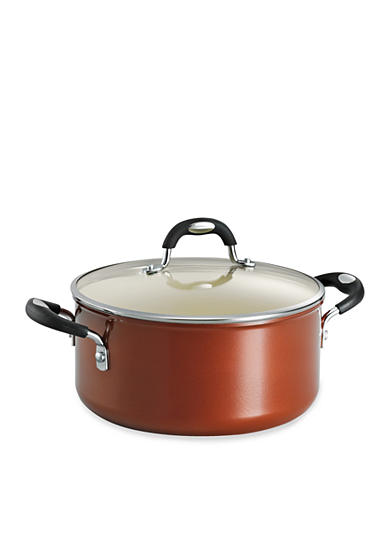 Tramontina Style 5-qt. Metallic Copper Ceramica 01 Covered Dutch Oven - Online Only<br>