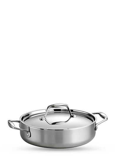 Tramontina Gourmet Stainless Steel Induction-Ready 3-qt. Covered Braiser