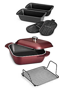 Tramontina LYON 7-Piece Garnet Cookware Set