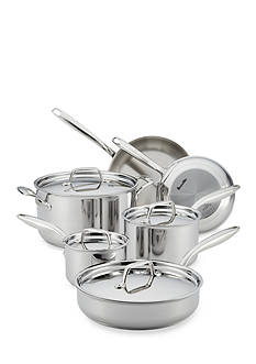 Breville Thermal Pro™ 10-Piece Clad Stainless Steel Cookware Set