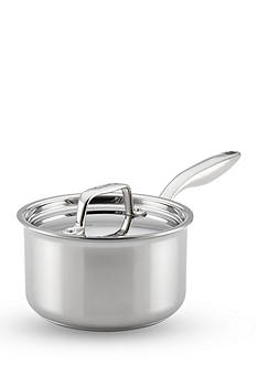 Breville Thermal Pro™ 2-qt. Clad Stainless Steel Covered Saucepan