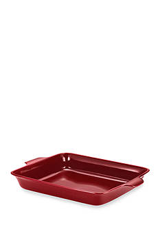Anolon Vesta Stoneware 9-in. Square Baker, Paprika Red