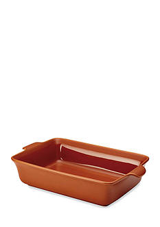 Anolon Vesta Stoneware 9-in. x 13-in. Rectangular Baker, Persimmon Orange