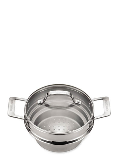 Stainless Steel Universal Steamer with Lid - Online Only