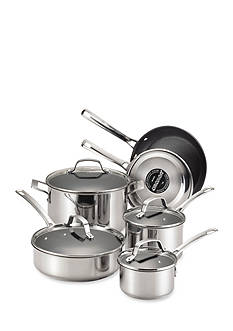 Circulon Genesis Stainless Steel Nonstick 10-Piece Cookware Set - Online Only