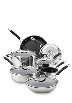 Circulon 11-Piece Momentum Stainless Steel Non-Stick Cookware Set