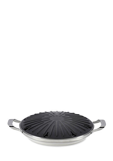 Circulon Nonstick 12-in. Round Stovetop Grill with Accessories