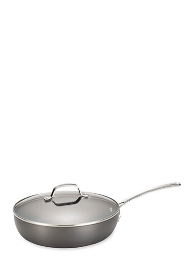Circulon Genesis Hard-Anodized Nonstick 12-in. Covered Deep Skillet - Online Only
