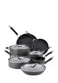 Circulon Momentum Hard-Anodized Nonstick 11-piece Cookware Set