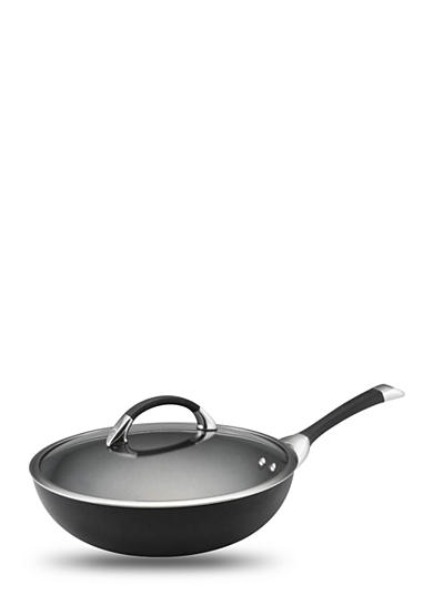 Circulon Symmetry 12-in. Covered Stir Fry Ultimate Pan, Black