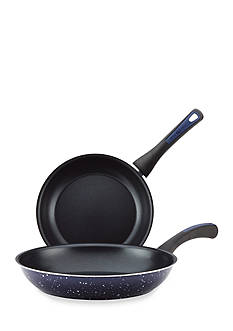 Paula Deen 2-Piece Riverbend Aluminum Nonstick Twin Skillet Set
